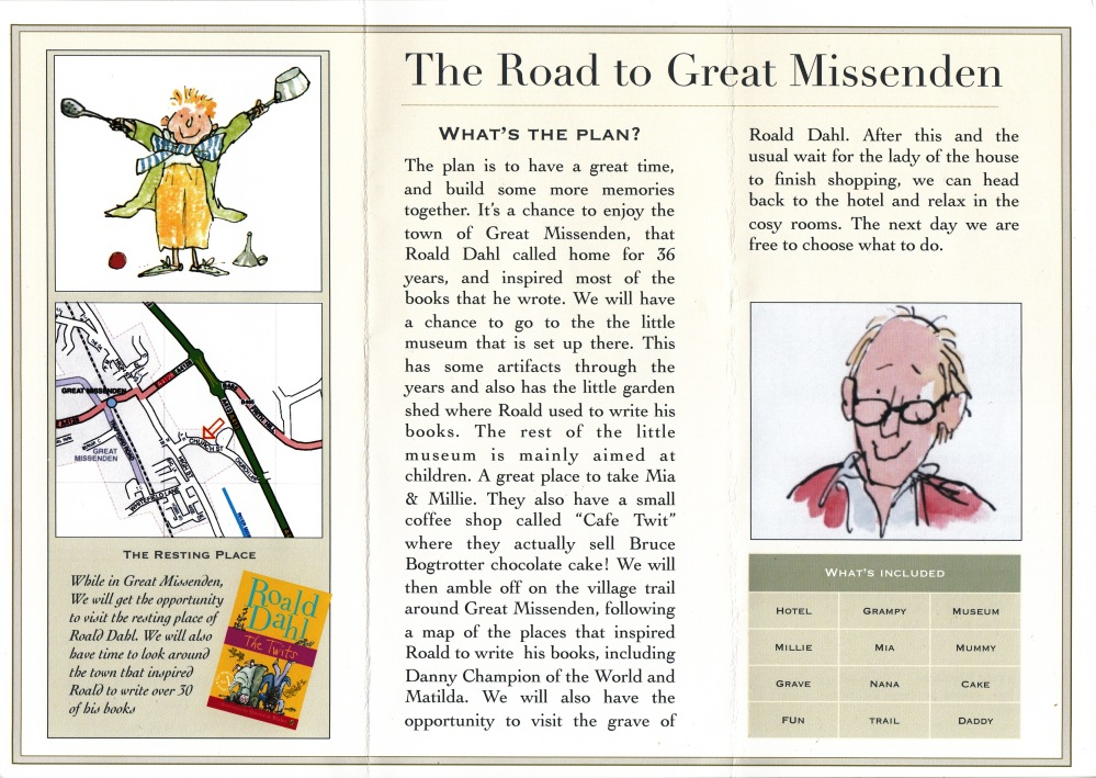 Roald Dahl Trip - Newberry Tours (2/6)