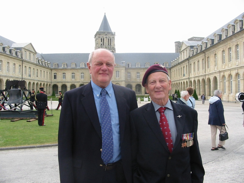 D.Day 70th Anniversary Celebrations June 2014 - the amazing story of a picture of a veteran and his grand daughter (4/6)