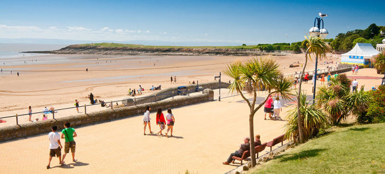Whitmore Bay Barry Island Barry Vale of Glamorgan South Towns and Villages